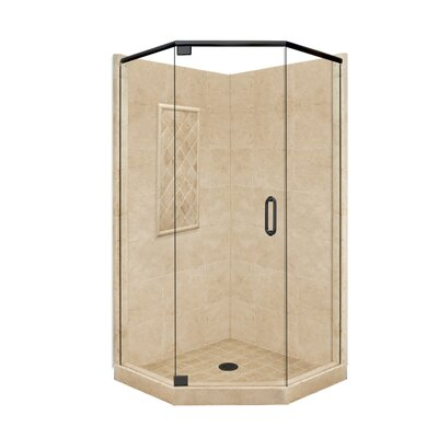 American Bath Factory Supreme Neo-Angle Door Shower Enclosure