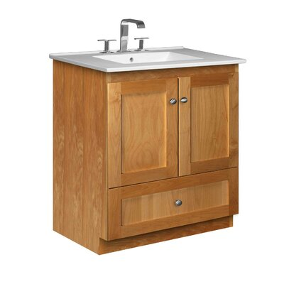 "Strasser Woodenworks Simplicity 31"" Bathroom Vanity Set"