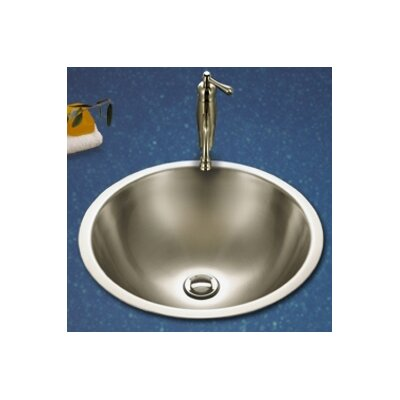 Houzer Club Double Layer Self Rimming Bathroom Vessel Sink
