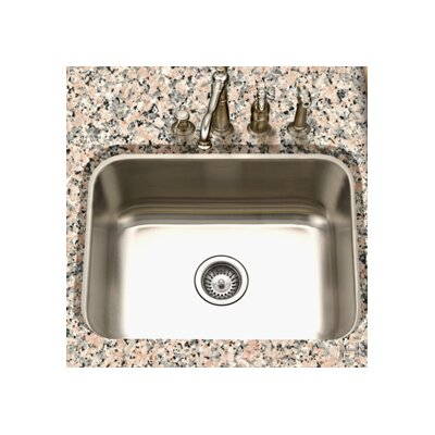 "Houzer Eston 23"" x 17.75"" Undermount Rectangular Single Bowl Kitchen Sink"