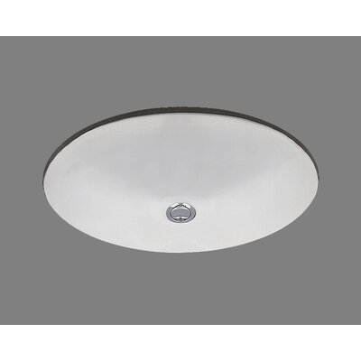 Ceramics Doreen Undermount Bathroom Sink with Overflow - P1417