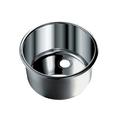 "Opella Round 11.4"" Bar Sink"