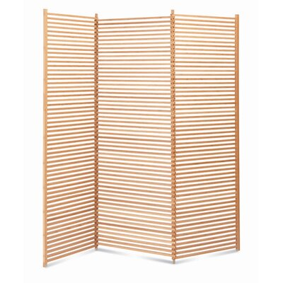 "Greenington 70.75"" x 54"" 3 Panel Room Divider"