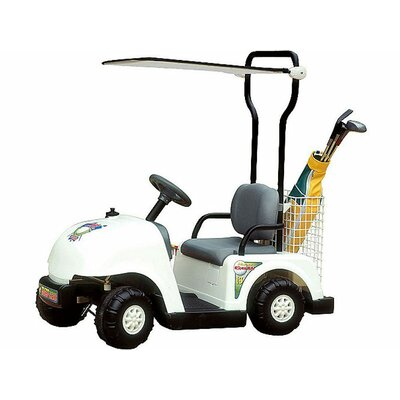 Big Toys NPL Junior Golf Cart in White