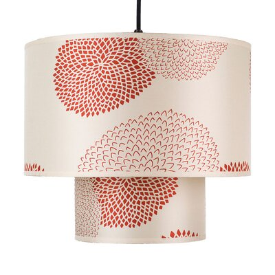 Lights Up! Deco 1 Light Drum Pendant