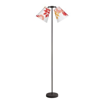 Lights Up! Zoe 2 Light Floor lamp