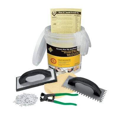 QEP Ceramic Floor Tile Installation Kit