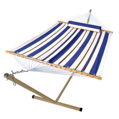 Algoma Net Company Fabric Hammock with Stand