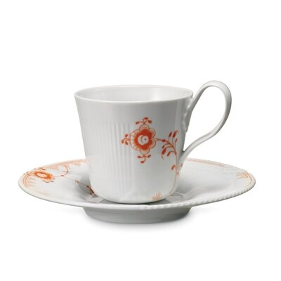 Royal Copenhagen Elements 8.5 oz. Cup and Saucer