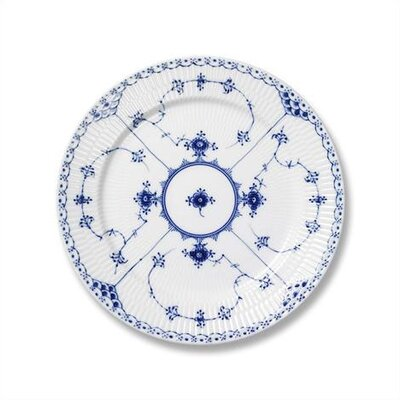 "Royal Copenhagen Blue Fluted Half Lace 7.5"" Salad / Dessert Plate"