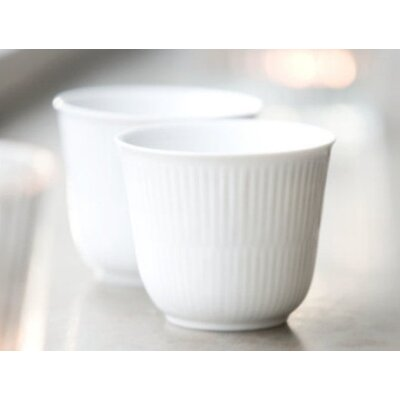Royal Copenhagen White Plain 8.5 oz. Thermal Mug