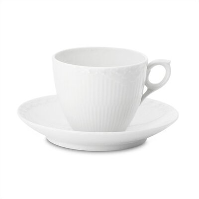 White Half Lace Dinnerware Collection
