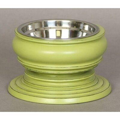 Unleashed Life Phuket Small Pet Dish in Green