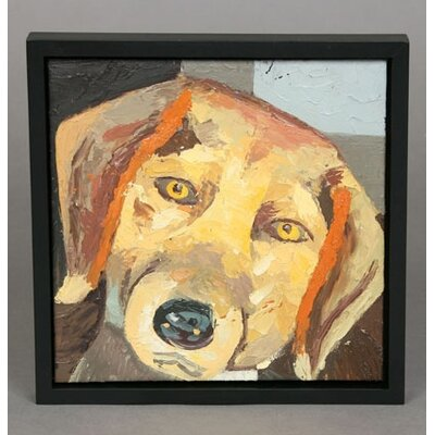 Unleashed Life Beagle Original Oil Painting