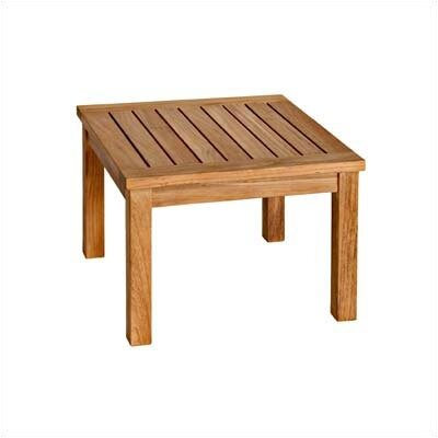 Three Birds Casual Newport Low Square Side Table