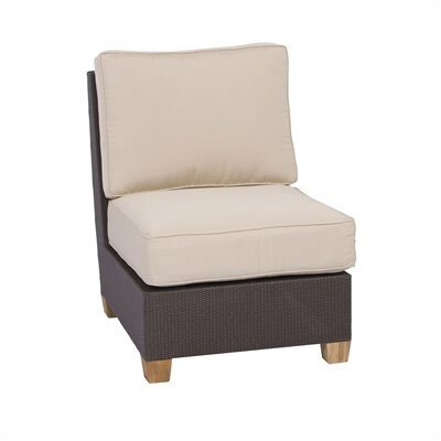 Three Birds Casual Ciera Deep Seating Armless Chair