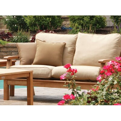 Three Birds Casual Monterey Deep Seating Loveseat with Cushions