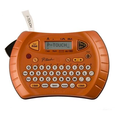 Brother Personal Handheld Labeler, 2 Print Lines, 1 Font, 9 Styles