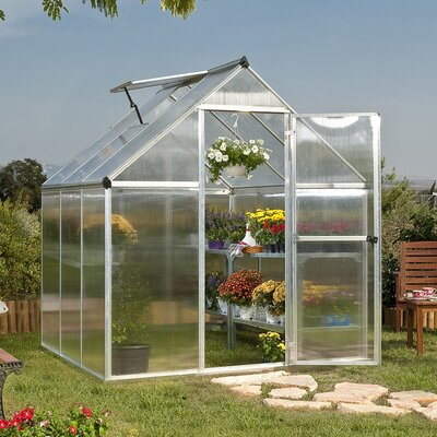 Poly-Tex Nature Twin Wall Polycarbonate Greenhouse