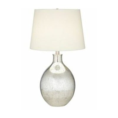 "Pacific Coast Lighting PCL Metallic Dawn 30"" H Table Lamp with Empire Shade"