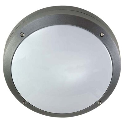 Crompton Lighting Two Light Round Flush Bulkhead