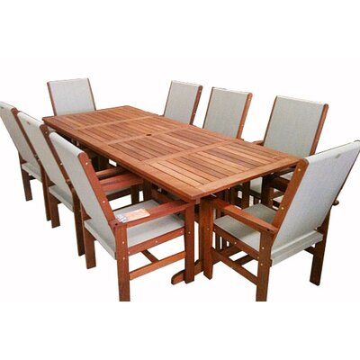 Tredor Trading Clyde 9-Piece Dining Set
