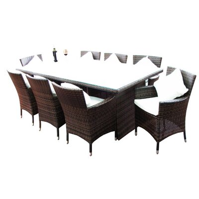 Active Leisure Design Sydney Rectangular 9 Piece Dining Setting