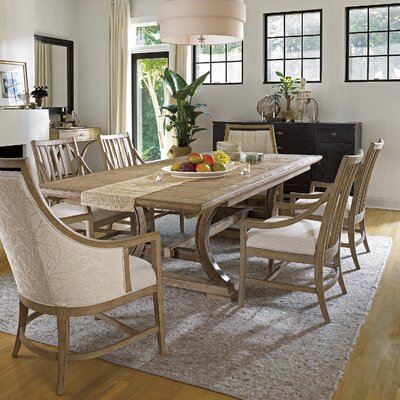 coastal living resort shelter bay dining table wayfair