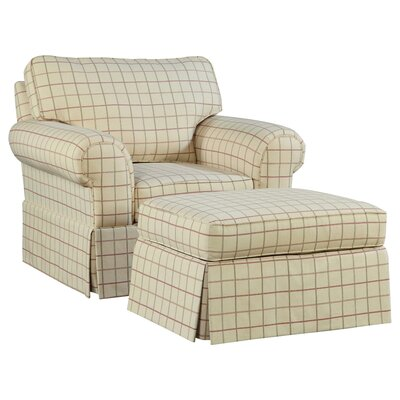 Broyhill® Julie Chair and Ottoman
