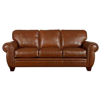 Broyhill Hollander Leather Sofa