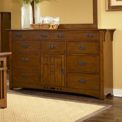 Broyhill® Artisan Ridge Door 9 Drawer Combo Dresser