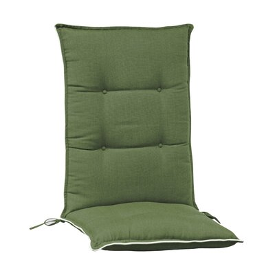 Arbora Teak Accent High Back Chair Cushion (Set of 2)