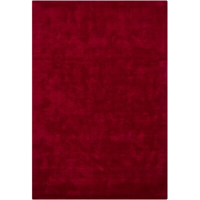 Chandra Rugs Clarissa Red Solid Rug