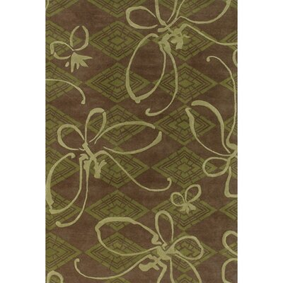 Chandra Rugs Venitian Butterfly Novelty Rug