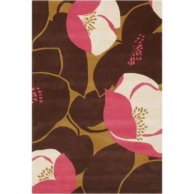 Chandra Amy Butler Field Poppy Pink Rug