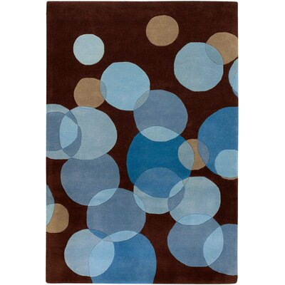 Chandra Rugs Avalisa Brown/Blue Rug