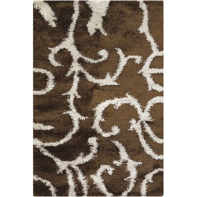 Chandra Rugs Fola Brown Rug