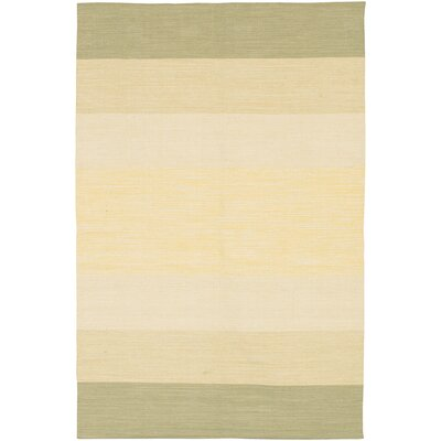 Chandra India Ivory Striped Rug