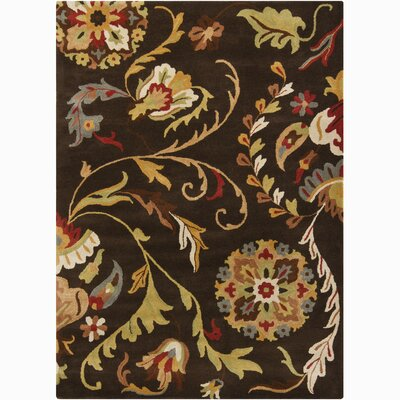 Chandra Rugs Bajrang Flower Rug