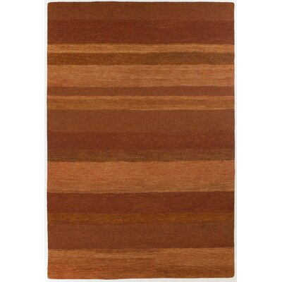 Chandra Rugs Felix Rust Stripe Rug