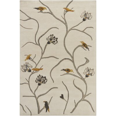 Chandra Rugs Hanu Birds Novelty Rug