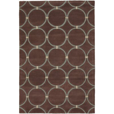 Chandra Rugs INT Beige Circle Rug