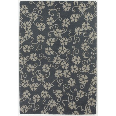 Chandra Rugs INT Floral Leaves Rug