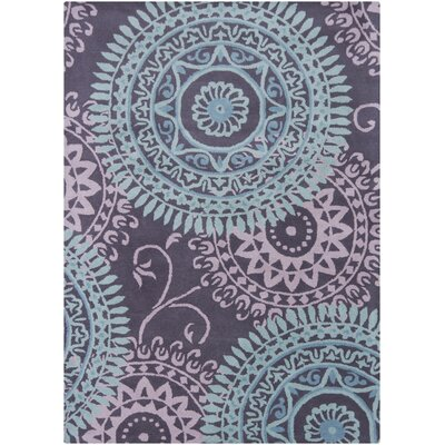 Chandra Rugs Bajrang Purple Rug