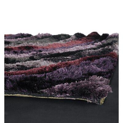 Chandra Rugs Flemish Shag Purple Rug