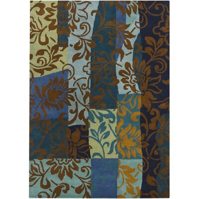Chandra Rugs Gagan Blue Rug