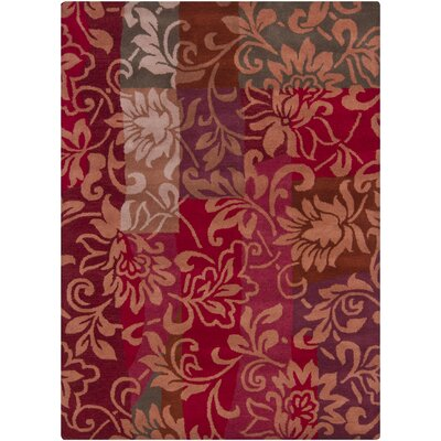 Chandra Gagan Red Rug