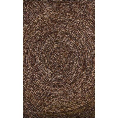 Chandra Galaxy Dark Brown Rug
