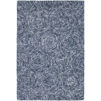 Chandra Galaxy Blue Rug