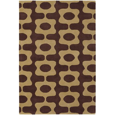 Chandra Inhabit Designer Brown/Tan Rug